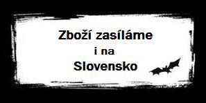 Zboží zasíláme i na Slovensko