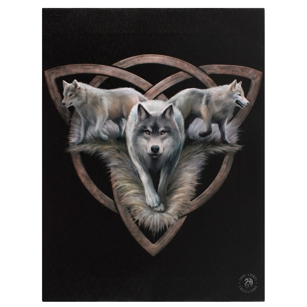Canvas - Wolf Trio