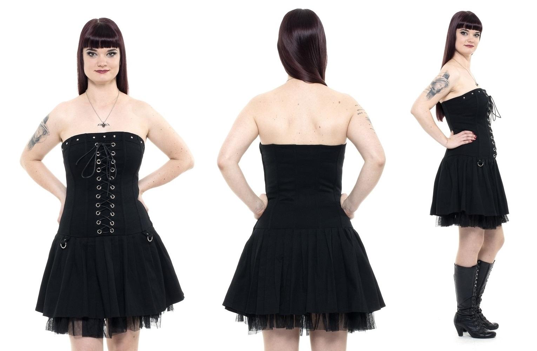 fec5472ecb4 Gotické šaty dámské se šněrováním