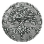 Hodiny Lisa Parker - Tree Of Life (Silver Effect)