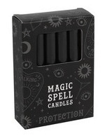 Svíčky černé Magic Spell - Protection